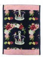 Feiler 'Royal Crown' Guest Towel - Pink